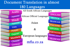 Document Translation in South Africa